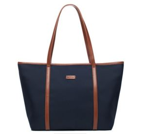 Handmade Canvas Tote Bag with Leather Handle, Canvas Bag