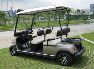4 Seat Golf Car Electric Cart for Sale pictures & photos