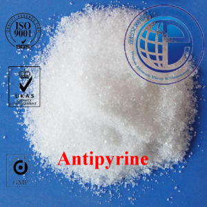 GMP Pharmaceutical Chemicals Manufacturer CAS 60-80-0 Antipyrine /Aminopyrine / Aminophenazone pictures & photos
