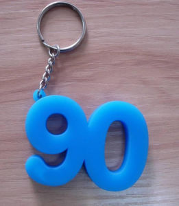 Plastic Numbers Fancy Key Chain (ASNY-JL-KC-091101) pictures & photos