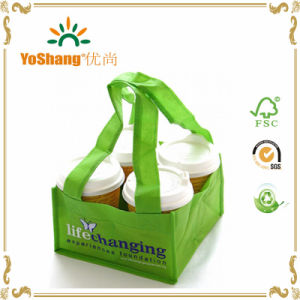 Durable Reusable Polypropylene Non Woven Coffee/Bread Packing Carrie Tote Bag pictures & photos