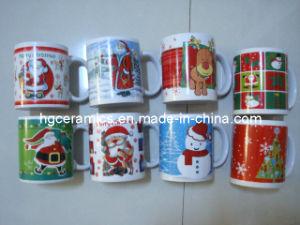 Christmas Pringting Mug, 11oz Ceramic Mug pictures & photos