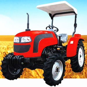 Lowest Price 30HP 4WD Wheel Tractor with Rops and Sunshade pictures & photos