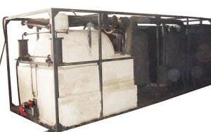 Waste Engine Oil Reclaimed Machine Hcy