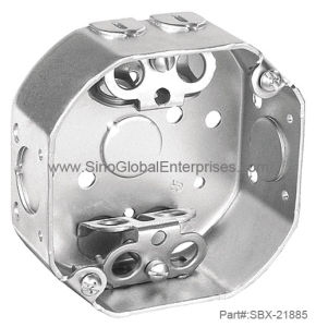 "4"" Octagon Box for Flexible Metal Conduit (SBX-21885)"