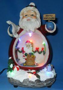 Christmas Decor/Resin Gift Santa Claus