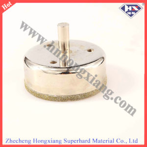 Electroplated Diamond Core Drill Bit for Glass Drilling pictures & photos