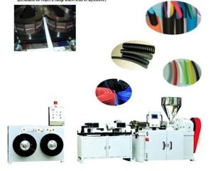 Plastic Corrugated Pipe Extruder pictures & photos