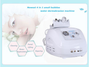 4 in 1 Hydra Aqua Dermabrasion Machine/Face Lifting Hyperbaric Oxygen Facial Machine pictures & photos