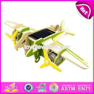 New Design Airplane Build Kit Wooden Popular Kids Toys W03b070 pictures & photos