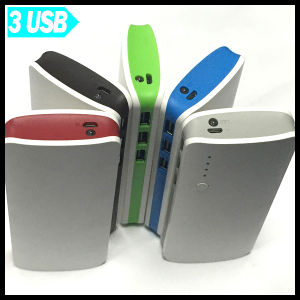 3 USB Port 15000mAh Portable Power Bank Mobile Phone Charger pictures & photos