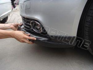 Carbon Front Bumper Apron Diffuser Spoiler for Audi A4 B8