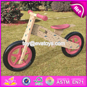 Best Design Original Work Lovely Wooden Balance Bicycles for Kids W16c177 pictures & photos