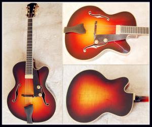 Handmade Jazz Guitar Stock (YZ-15S02)