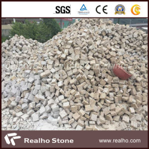 Hot Sale Rusty Yellow G682 Granite Cube Stone/Cobble Stone for Paving pictures & photos