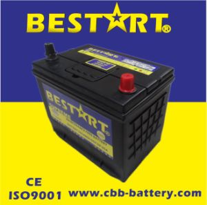 12V65ah Premium Quality Bestart Mf Vehicle Battery JIS 75D26L-Mf pictures & photos