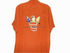 Men Silk Tee Shirt