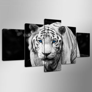 HD Printed Tiger Printed Painting on Canvas Decoration Print Poster Picture Canvas Framed Ym-011 pictures & photos