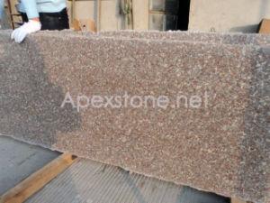 G648 Deer Brown Granite Half Slab