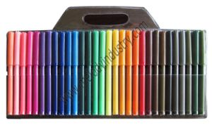 High Quality 30 Colors Fiber Tip Color Marker Kit pictures & photos