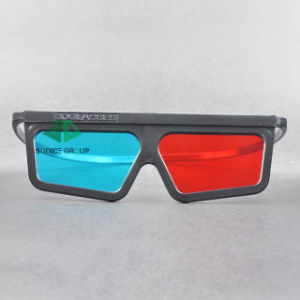 Plastic Cyan Red 3D Glasses (SN3D 033P)