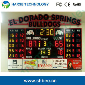 Shanghai 2014 LED Basketball Scoreboard
