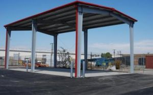 Steel Frame Structural Columns with Painting or Galvanizing Hy-Ss121 pictures & photos