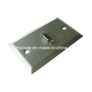 Stainless Steel VGA Wall Plate