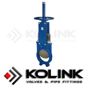 Cast Iron DIN Knife Gate Valve, Single-Directional, Soft Seat