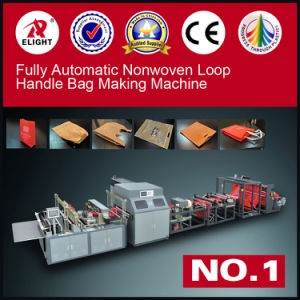 Fully Automatic Nonwoven Loop Handle Bag Making Machine (One Machine With Six Functions) pictures & photos