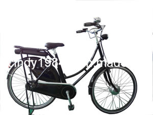 Holland Style E Bike with Panasonic Lithium Battery (HJ-C09)
