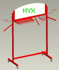 Garment Hanging Display Rack (HYX-CR006)
