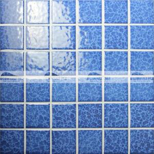 48X48mm Blosssom Crystal Glazed Ceramic Pool Mosaic Tile (BCK621)