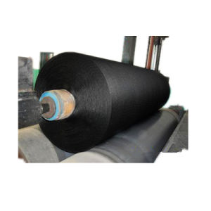 1500d/2 Black Color Second Grade Polyester Tyre Cord Fabric for Fishing Net pictures & photos