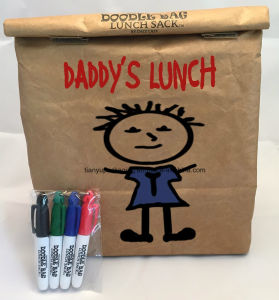 Perfect Brown Durable Paper Lunch Bag Food Snack Storage Paper Bag pictures & photos