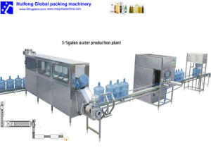 20L Water Filling Machine/5gallon Bottling Machine/Mineral Water Production Line pictures & photos
