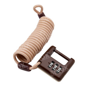 Zinc Alloy 3 Dials Combination Padlock pictures & photos