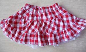 Girl′s Woven Skirt