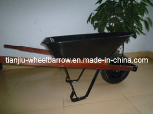 Wood Frame Names Agricultural Tools Columbia Wheelbarrow (Wh5400 pictures & photos