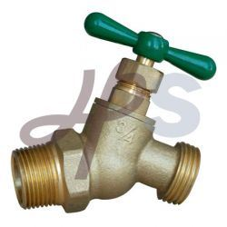 Brass 45 Angle Boiler Drain for Irrigation System pictures & photos