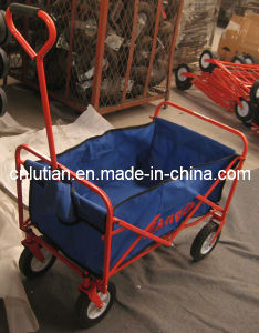 Folding Trolley Steel Frame and Oxford Barrow