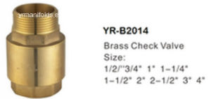 Brass Check Valve, Forging, Lathe Finsih pictures & photos
