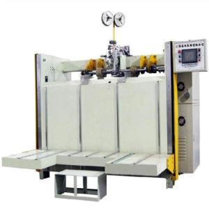 Semi-Automatic Corrugated Carton Stitching Machine pictures & photos