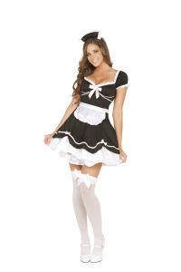 Chamber Maid Halloween Costume - Three Piece Costume Set