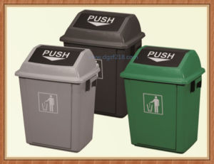 Durable High Quality Plastic Waste Bin for Sale pictures & photos