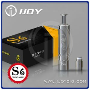Newest DCT&Bdc Fashionable Airflow Adjustable Ijoy S6 Clearomizer