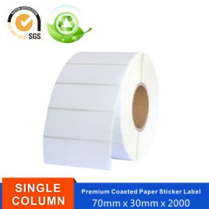 Self-Adhesive Glossy Coated Art Paper Sticker Label
