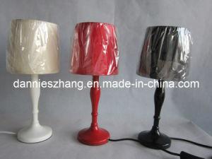 Cloth Art Is in Italics Chimney Small Bamboo Ribbed Lamps