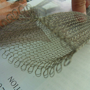 Monel/Inconel Knitted Filter Mesh, Vapor-Liquid Filter Mesh pictures & photos
