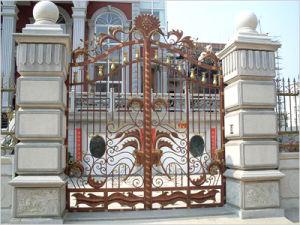 Wrought Iron Gate XJ201